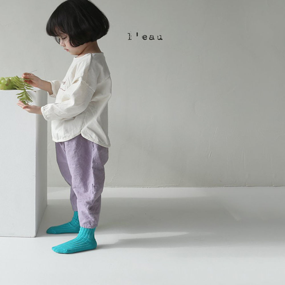 LEAU - Korean Children Fashion - #Kfashion4kids - Mass Color Pants - 12