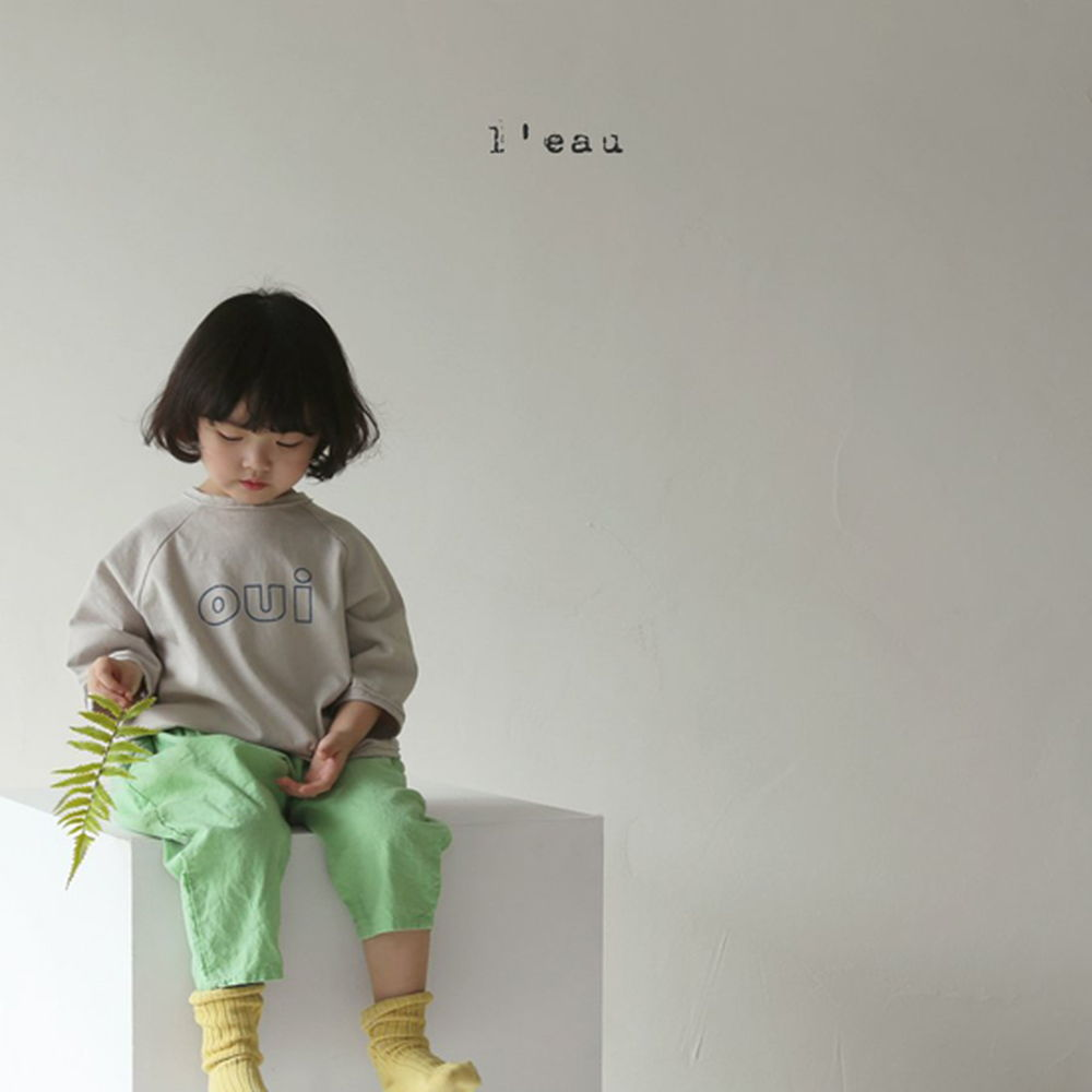 LEAU - Korean Children Fashion - #Kfashion4kids - Oui Tee - 2