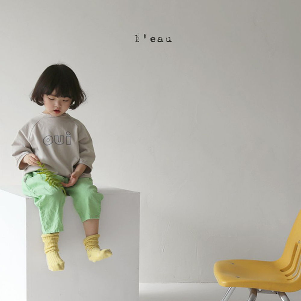 LEAU - Korean Children Fashion - #Kfashion4kids - Oui Tee - 4