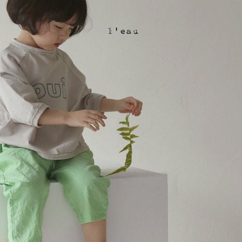 LEAU - BRAND - Korean Children Fashion - #Kfashion4kids - Oui Tee