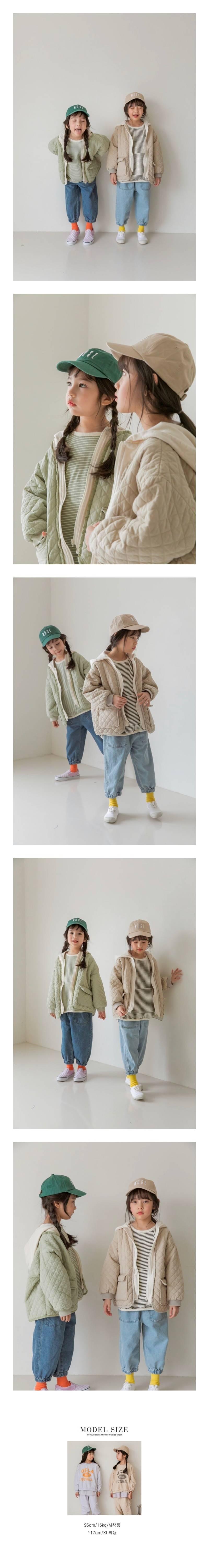 LITTLE COLLI - Korean Children Fashion - #Kfashion4kids - Milk Hood Jumper