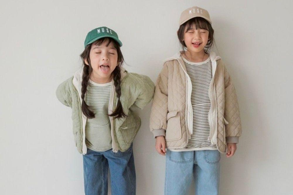LITTLE COLLI - BRAND - Korean Children Fashion - #Kfashion4kids - Milk Hood Jumper