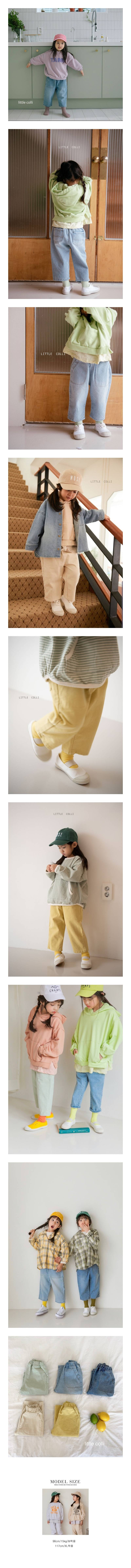 LITTLE COLLI - Korean Children Fashion - #Kfashion4kids - Spring Pocket Pants
