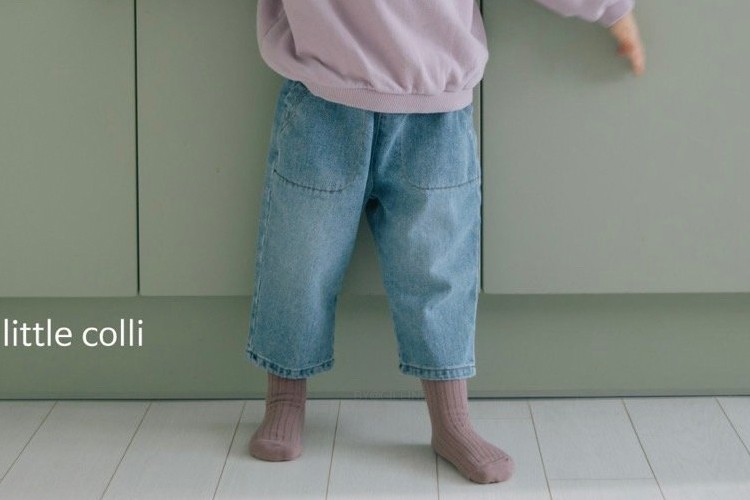LITTLE COLLI - BRAND - Korean Children Fashion - #Kfashion4kids - Spring Pocket Pants