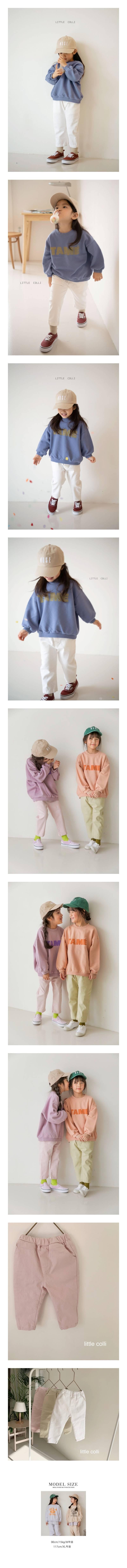 LITTLE COLLI - Korean Children Fashion - #Kfashion4kids - Spring Pants