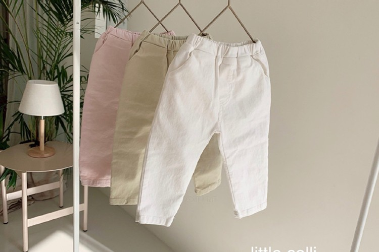 LITTLE COLLI - BRAND - Korean Children Fashion - #Kfashion4kids - Spring Pants