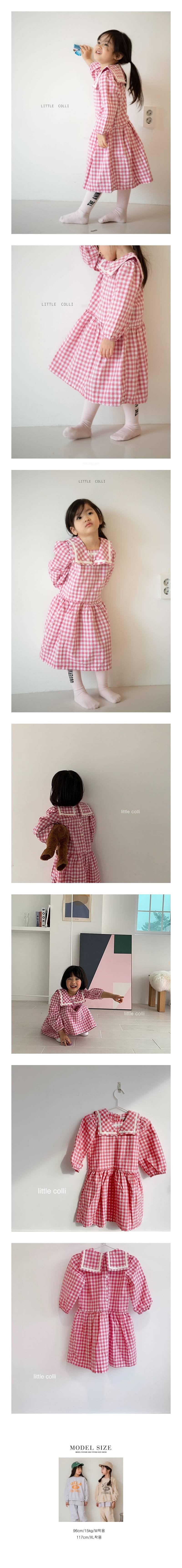 LITTLE COLLI - Korean Children Fashion - #Kfashion4kids - Sailor One-piece