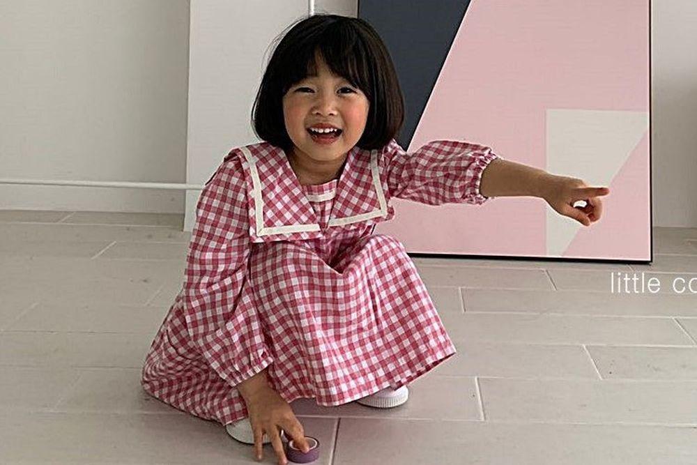 LITTLE COLLI - BRAND - Korean Children Fashion - #Kfashion4kids - Sailor One-piece