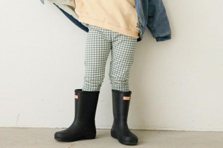 LITTLE COLLI - BRAND - Korean Children Fashion - #Kfashion4kids - Check Leggings