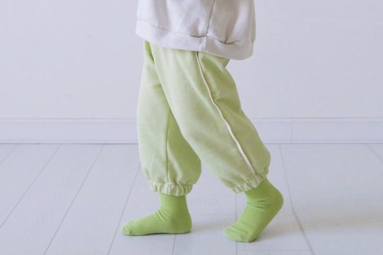 LITTLE COLLI - BRAND - Korean Children Fashion - #Kfashion4kids - Color Jogger Pants