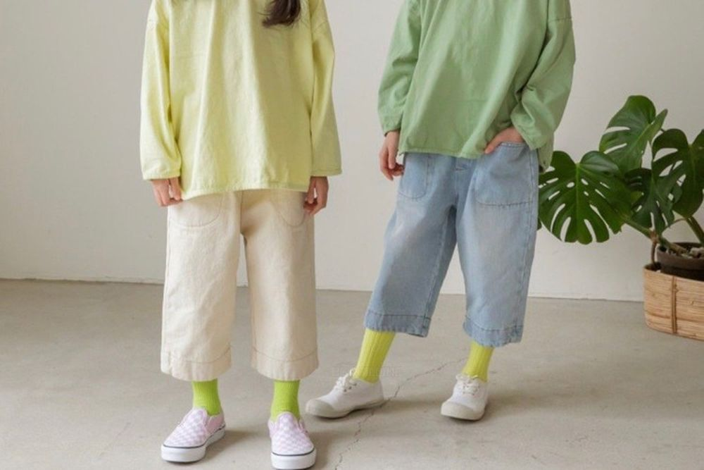 LITTLE COLLI - BRAND - Korean Children Fashion - #Kfashion4kids - Tomboy Pants