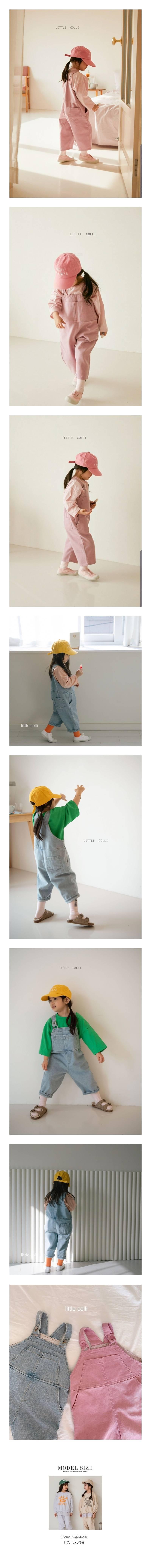 LITTLE COLLI - Korean Children Fashion - #Kfashion4kids - Tonki Suspender Pants
