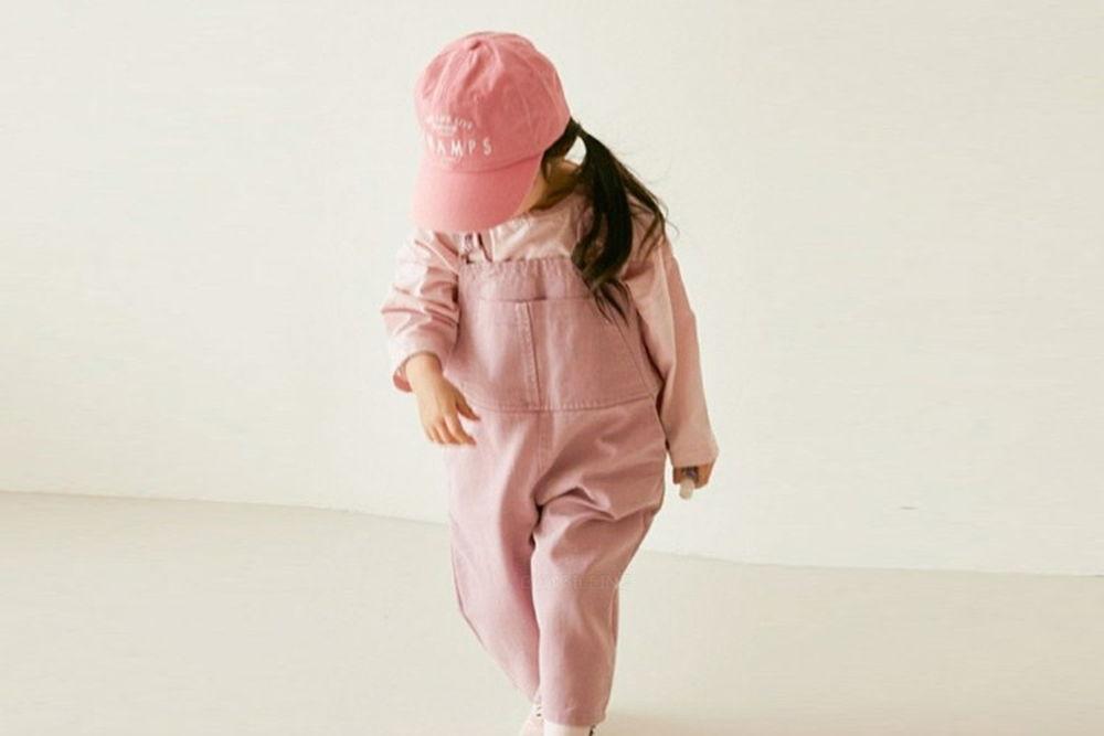 LITTLE COLLI - BRAND - Korean Children Fashion - #Kfashion4kids - Tonki Suspender Pants