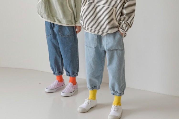 LITTLE COLLI - BRAND - Korean Children Fashion - #Kfashion4kids - Pocket Jogger Pants