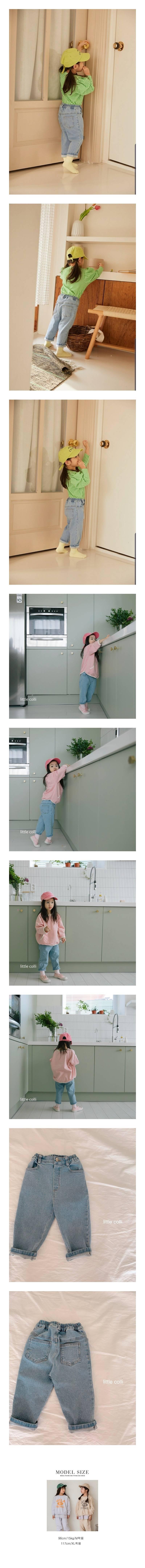 LITTLE COLLI - Korean Children Fashion - #Kfashion4kids - Perfect Fit Denim Pants