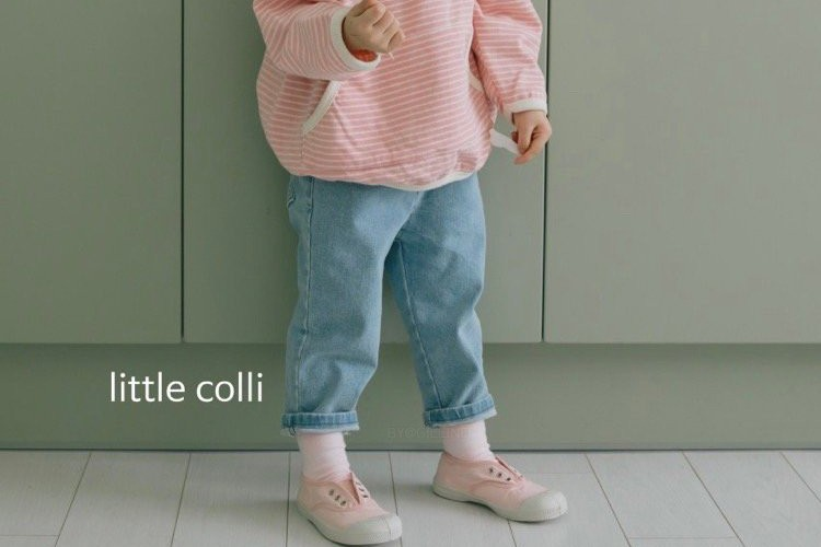 LITTLE COLLI - BRAND - Korean Children Fashion - #Kfashion4kids - Perfect Fit Denim Pants