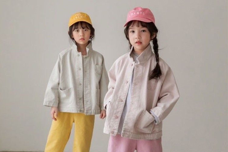 LITTLE COLLI - BRAND - Korean Children Fashion - #Kfashion4kids - Pink Jacket