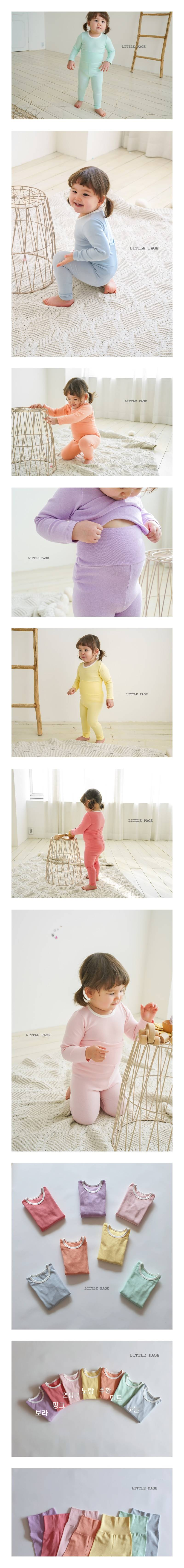 LITTLE PAGE - Korean Children Fashion - #Kfashion4kids - Tummy Warm Easywear