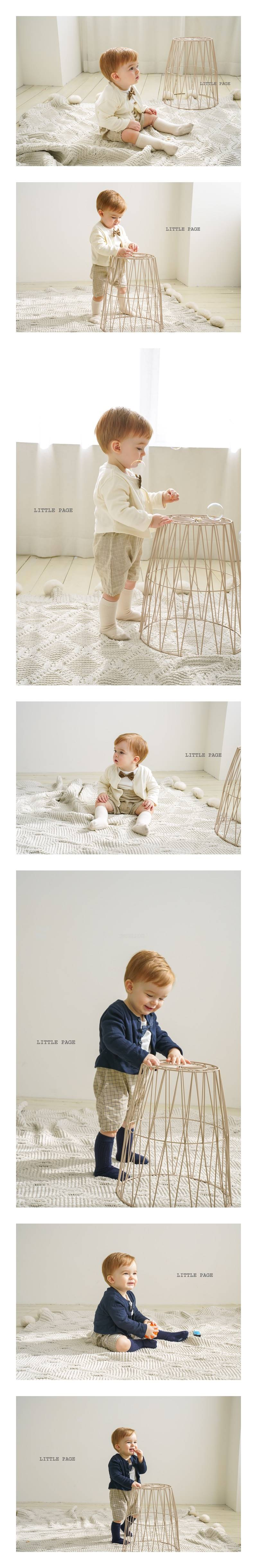 LITTLE PAGE - Korean Children Fashion - #Kfashion4kids - Candle Baby Boy Bodysuit