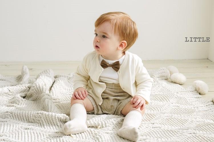 LITTLE PAGE - BRAND - Korean Children Fashion - #Kfashion4kids - Candle Baby Boy Bodysuit