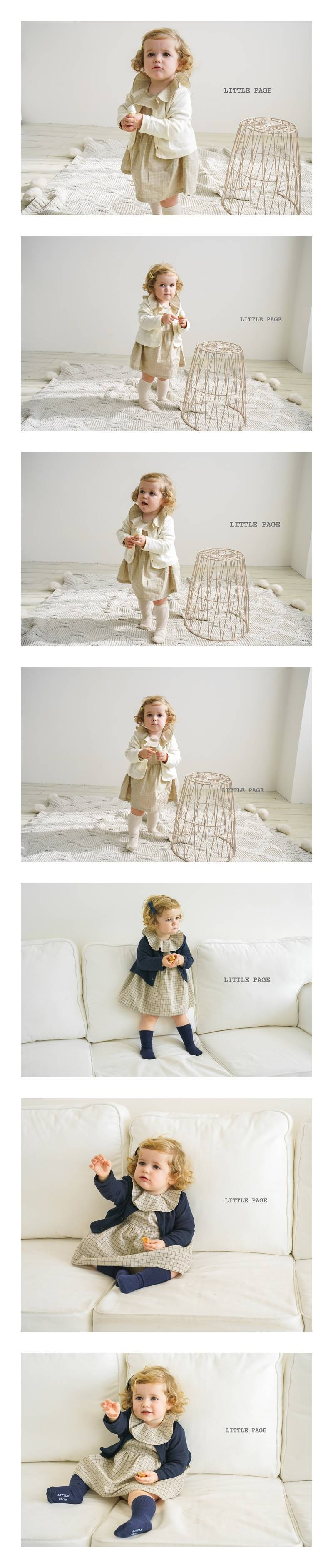 LITTLE PAGE - Korean Children Fashion - #Kfashion4kids - Candle Baby Girl Bodysuit