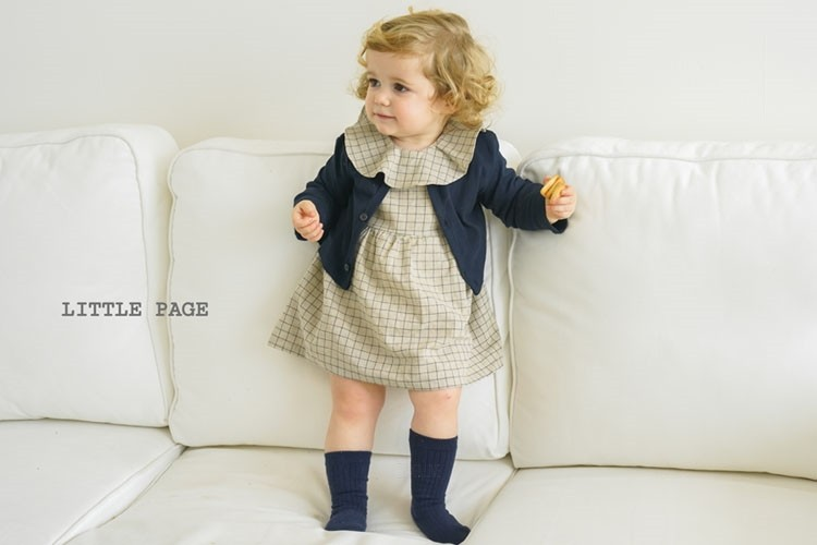 LITTLE PAGE - BRAND - Korean Children Fashion - #Kfashion4kids - Candle Baby Girl Bodysuit