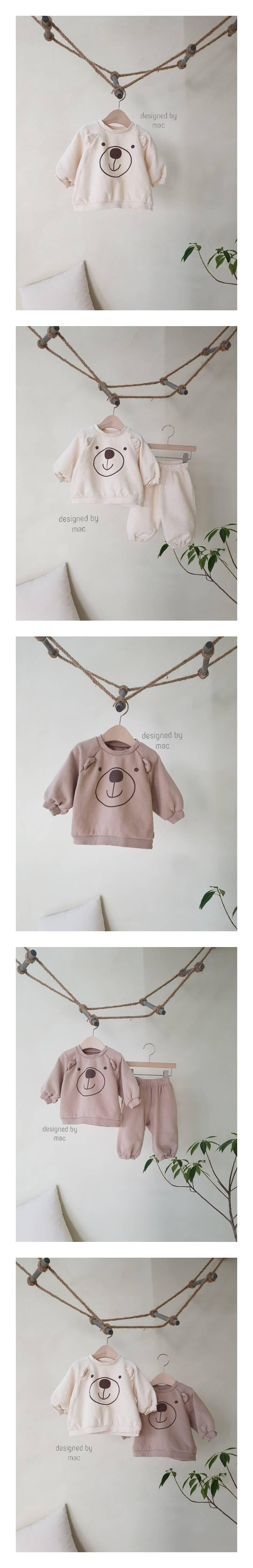 MAC - Korean Children Fashion - #Kfashion4kids - Bear MTM