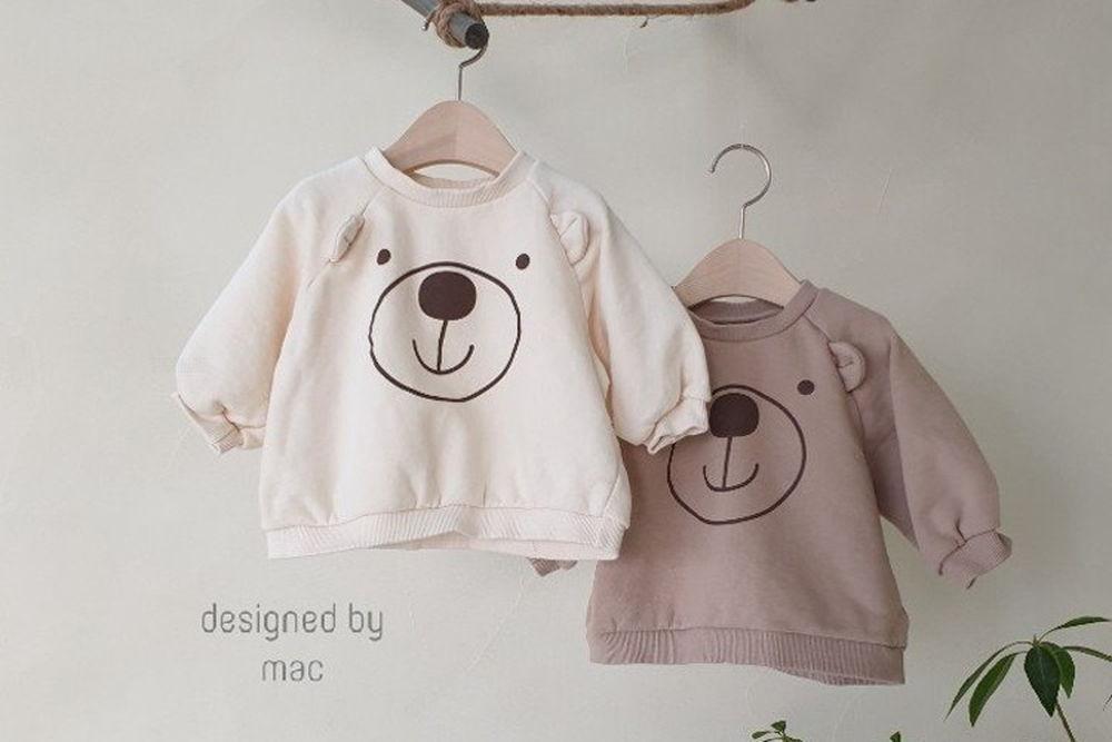 MAC - BRAND - Korean Children Fashion - #Kfashion4kids - Bear MTM