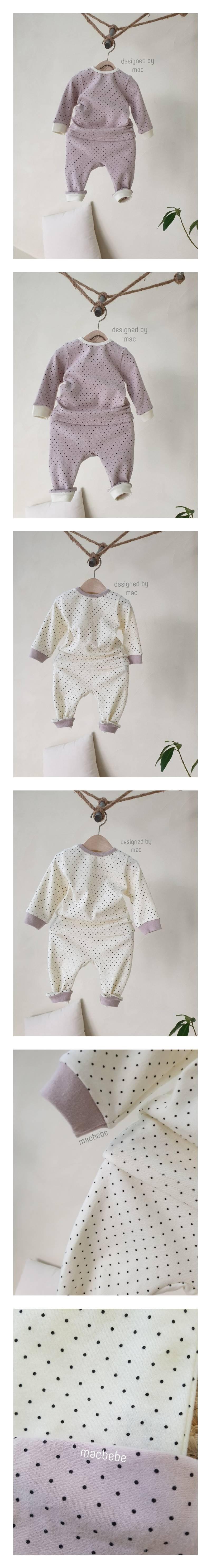 MAC - Korean Children Fashion - #Kfashion4kids - Dot Easywear