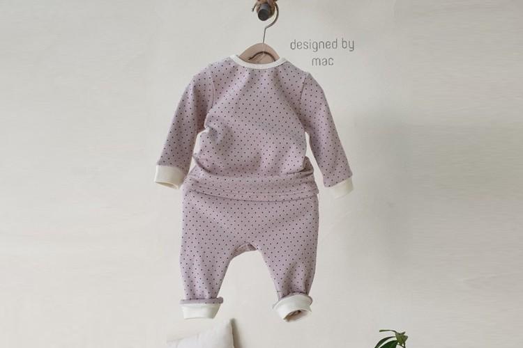 MAC - BRAND - Korean Children Fashion - #Kfashion4kids - Dot Easywear