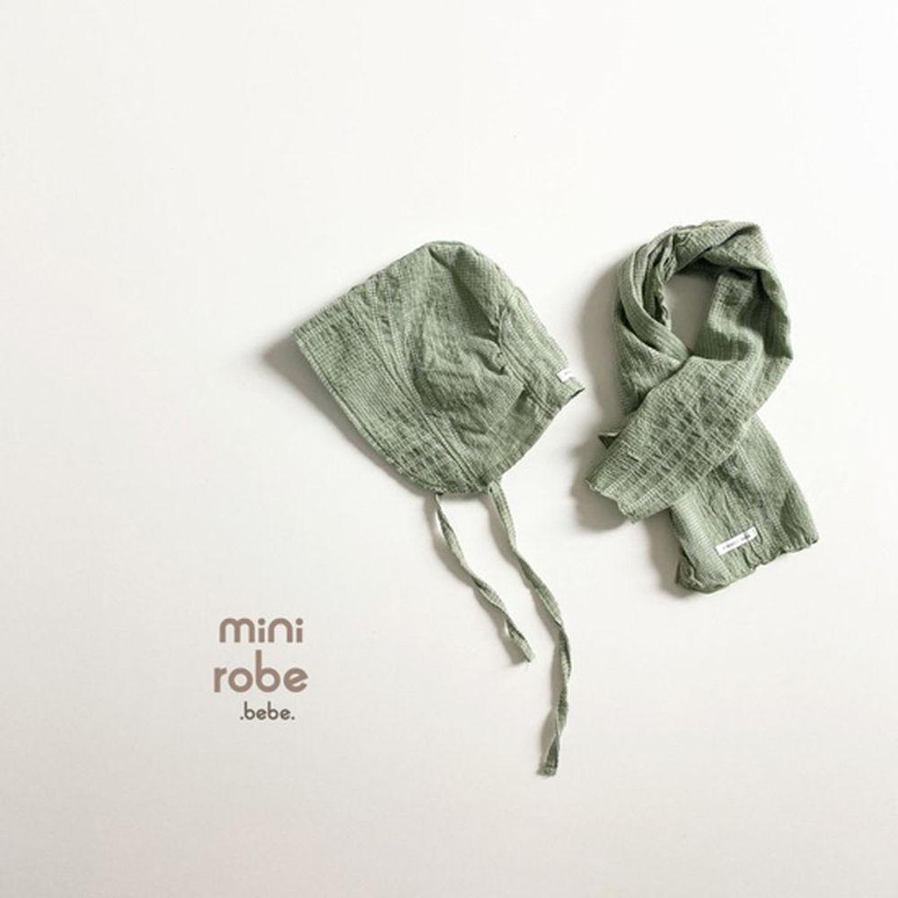 MINI ROBE - Korean Children Fashion - #Kfashion4kids - Embroidery Bonnet - 11