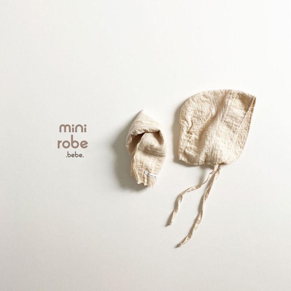 MINI ROBE - Korean Children Fashion - #Kfashion4kids - Embroidery Bonnet - 12