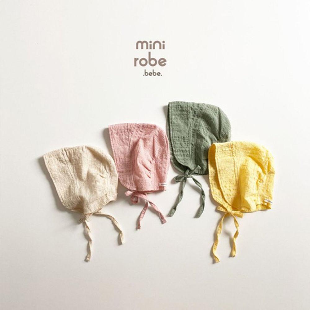MINI ROBE - Korean Children Fashion - #Kfashion4kids - Embroidery Bonnet - 6