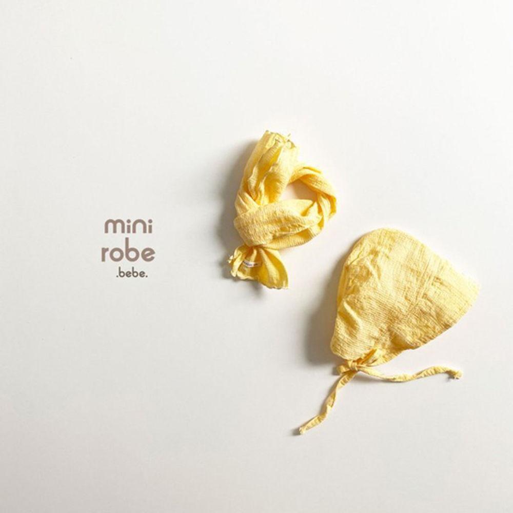 MINI ROBE - Korean Children Fashion - #Kfashion4kids - Embroidery Bonnet - 9