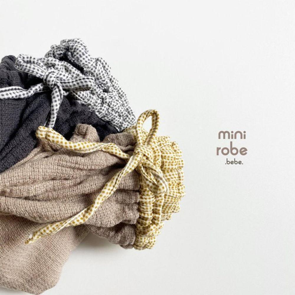 MINI ROBE - Korean Children Fashion - #Kfashion4kids - Bebe Brownie Pants