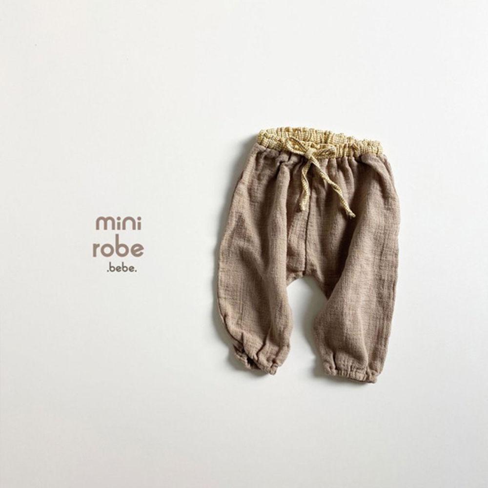 MINI ROBE - Korean Children Fashion - #Kfashion4kids - Bebe Brownie Pants - 10