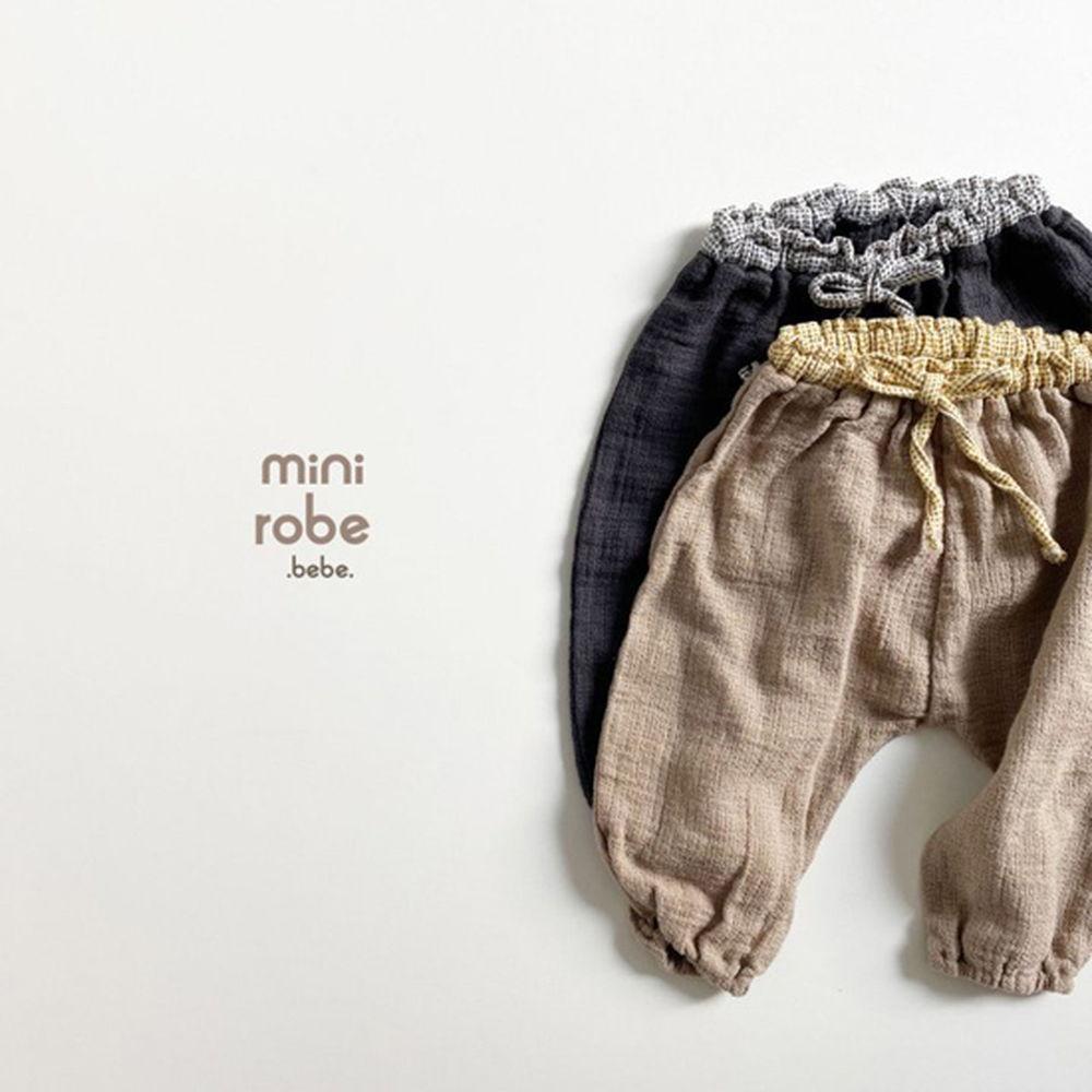 MINI ROBE - Korean Children Fashion - #Kfashion4kids - Bebe Brownie Pants - 12