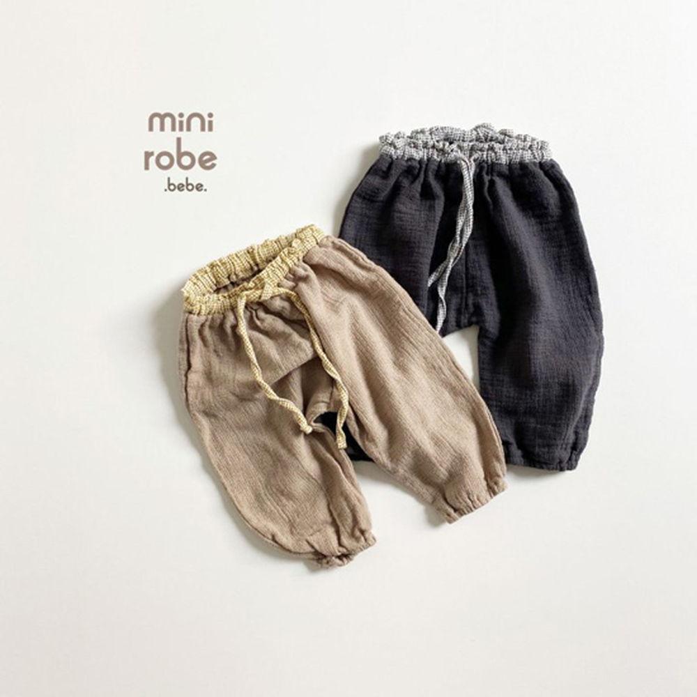MINI ROBE - Korean Children Fashion - #Kfashion4kids - Bebe Brownie Pants - 2
