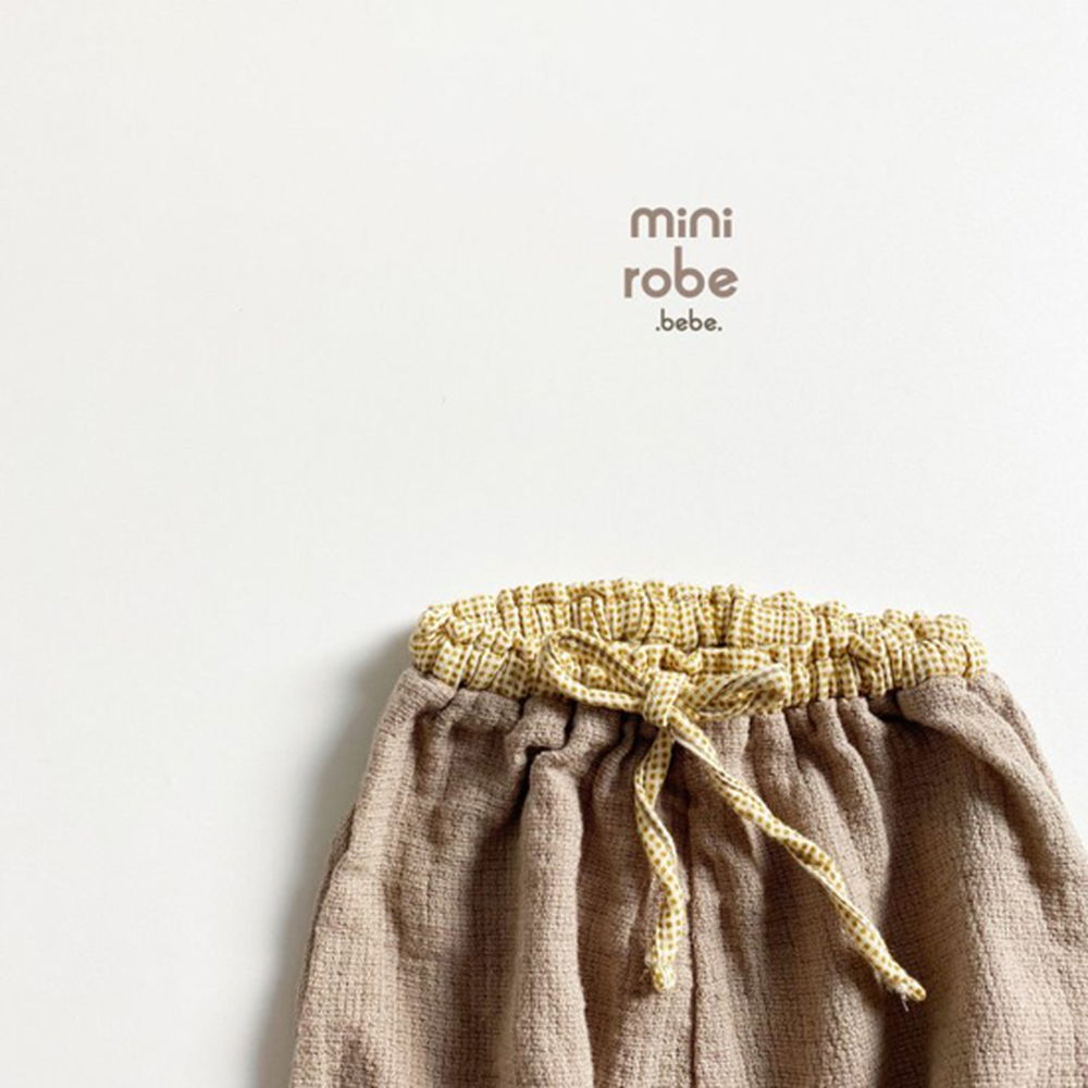 MINI ROBE - Korean Children Fashion - #Kfashion4kids - Bebe Brownie Pants - 5