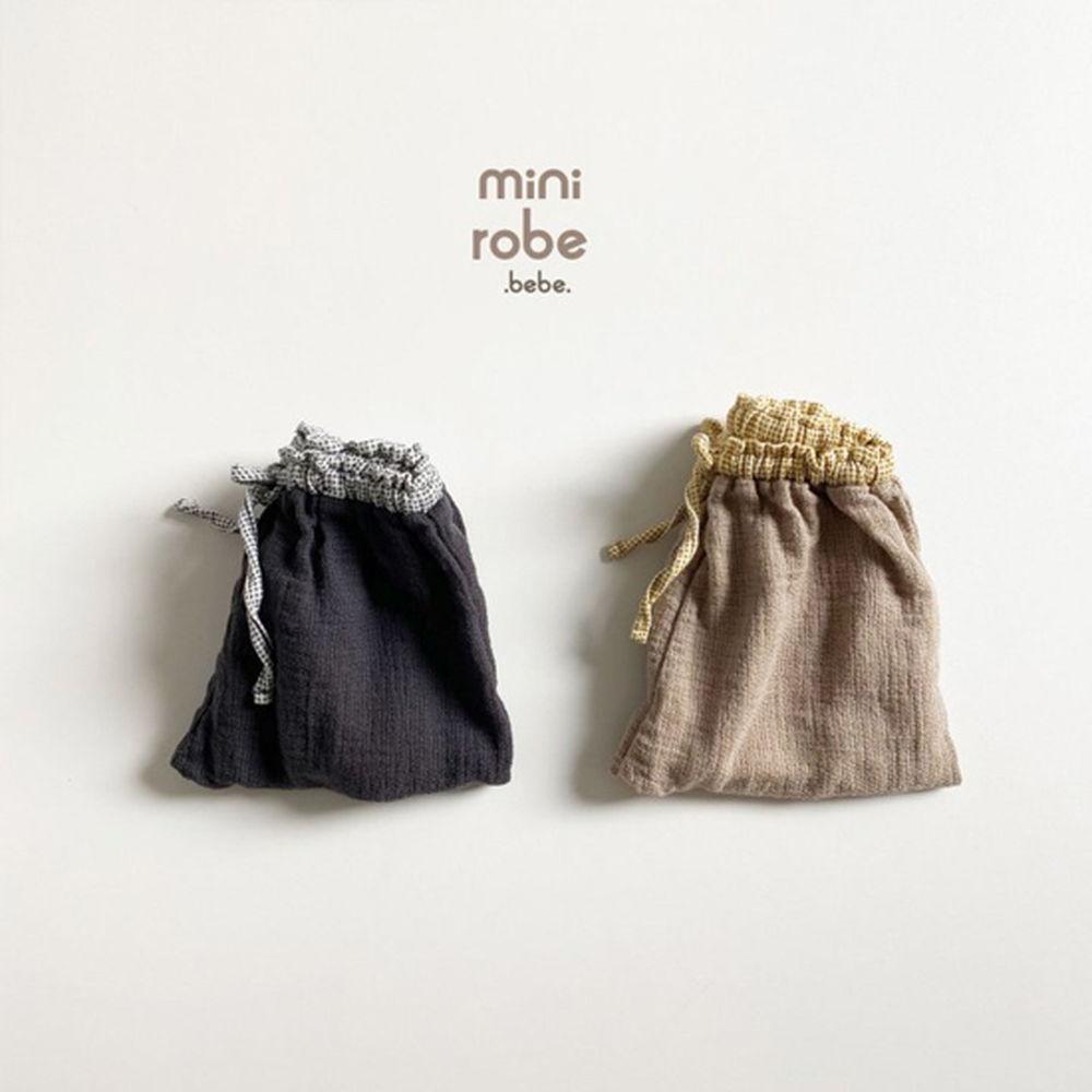 MINI ROBE - Korean Children Fashion - #Kfashion4kids - Bebe Brownie Pants - 6