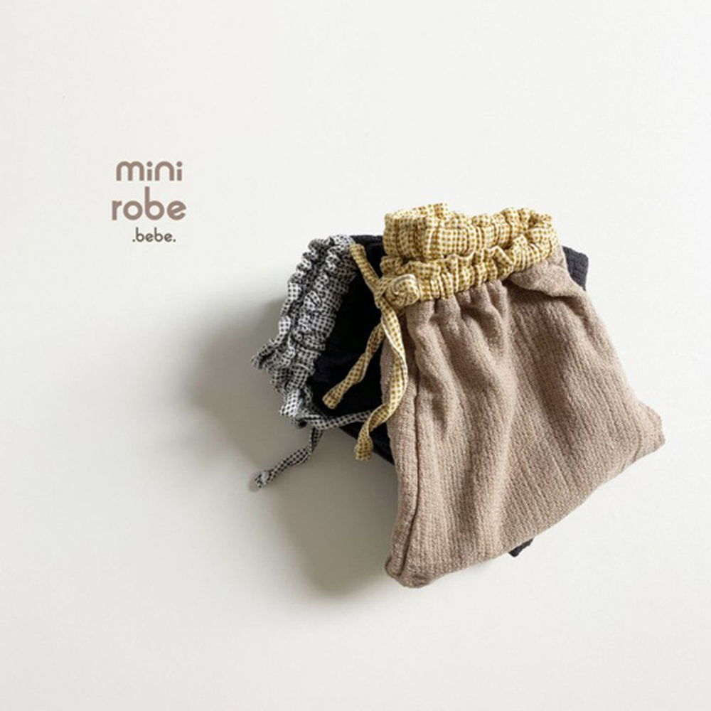 MINI ROBE - Korean Children Fashion - #Kfashion4kids - Bebe Brownie Pants - 8