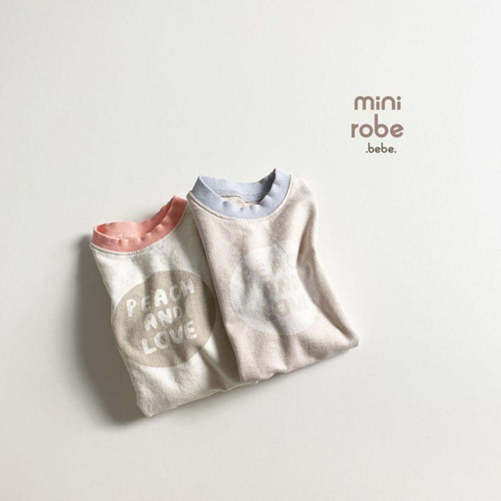 MINI ROBE - Korean Children Fashion - #Kfashion4kids - Peach Bodysuit - 12
