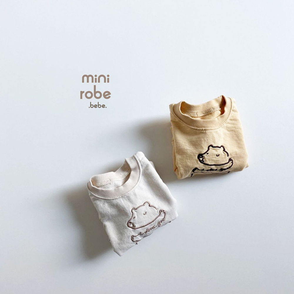 MINI ROBE - Korean Children Fashion - #Kfashion4kids - Bebe Love Bear MTM
