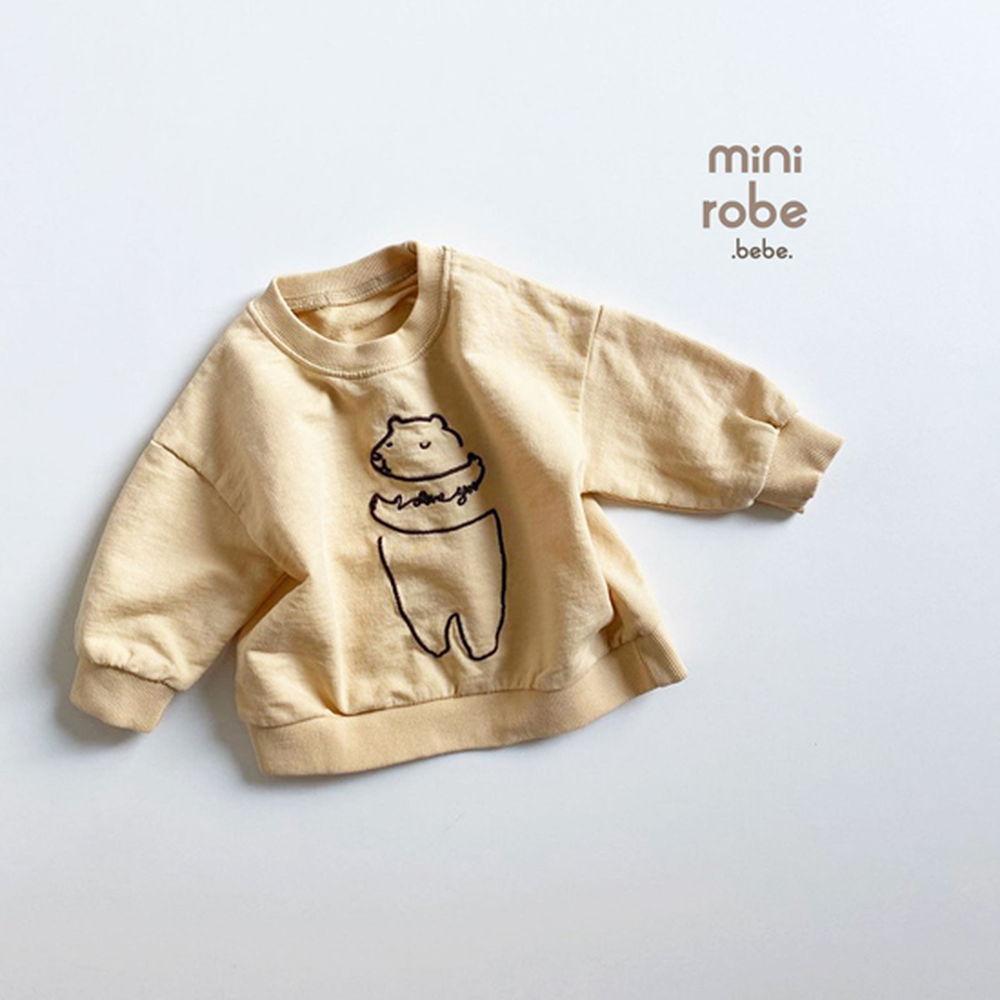 MINI ROBE - Korean Children Fashion - #Kfashion4kids - Bebe Love Bear MTM - 2