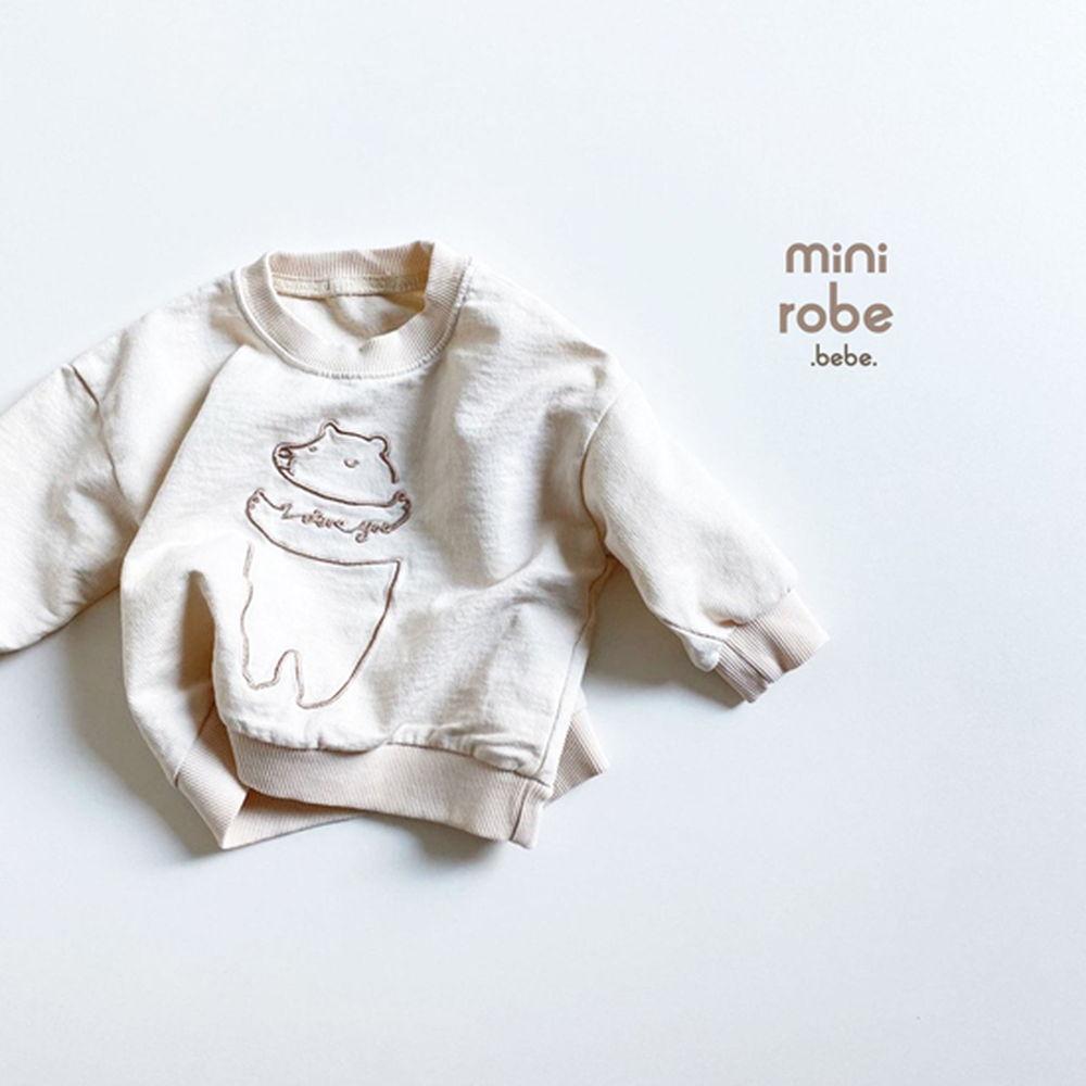 MINI ROBE - Korean Children Fashion - #Kfashion4kids - Bebe Love Bear MTM - 3