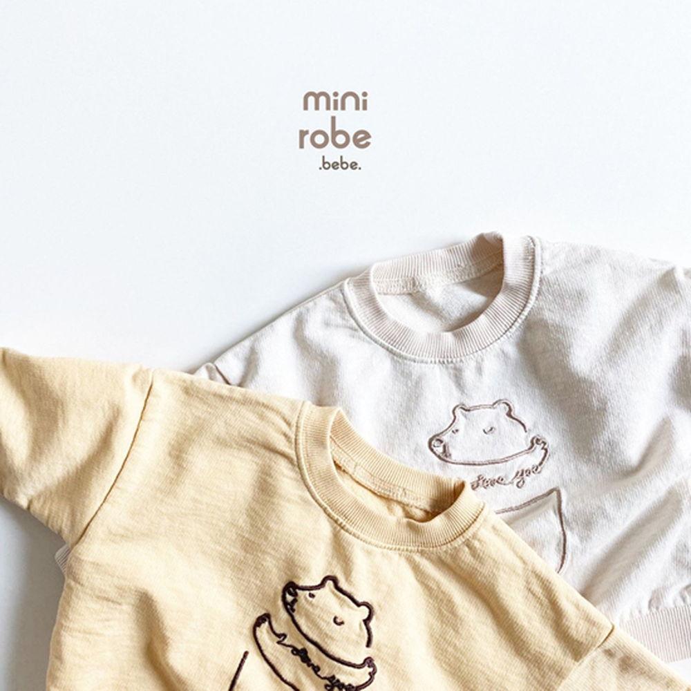 MINI ROBE - Korean Children Fashion - #Kfashion4kids - Bebe Love Bear MTM - 4
