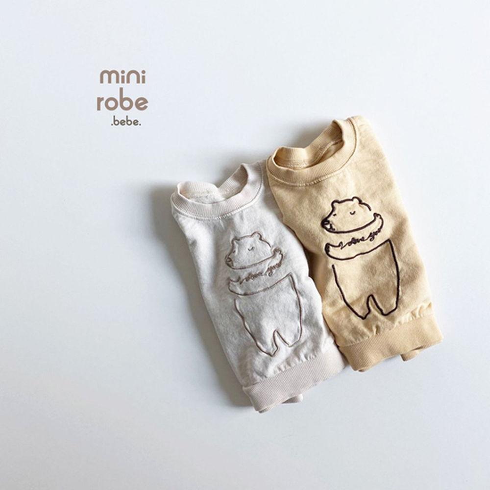 MINI ROBE - Korean Children Fashion - #Kfashion4kids - Bebe Love Bear MTM - 5