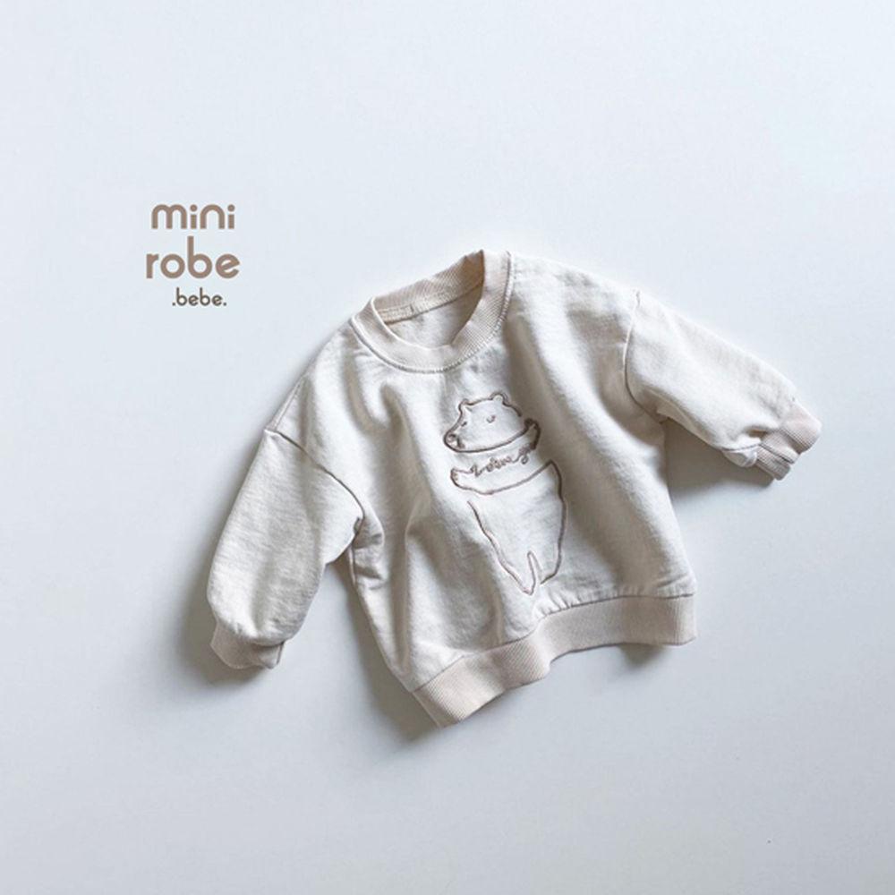 MINI ROBE - Korean Children Fashion - #Kfashion4kids - Bebe Love Bear MTM - 6