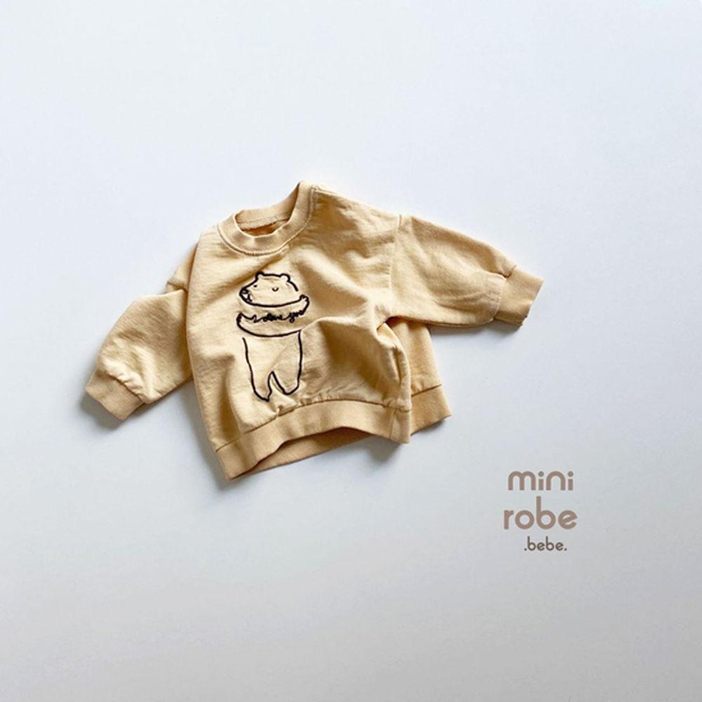 MINI ROBE - Korean Children Fashion - #Kfashion4kids - Bebe Love Bear MTM - 7