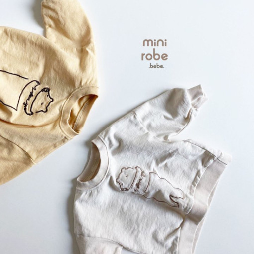 MINI ROBE - BRAND - Korean Children Fashion - #Kfashion4kids - Bebe Love Bear MTM